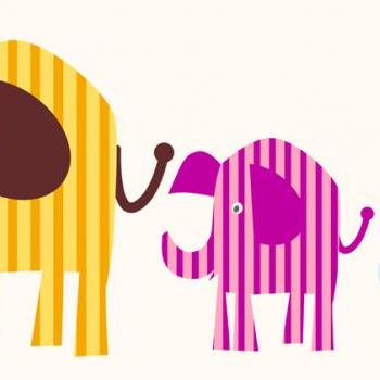 Cute Elephant Wall decals for Children